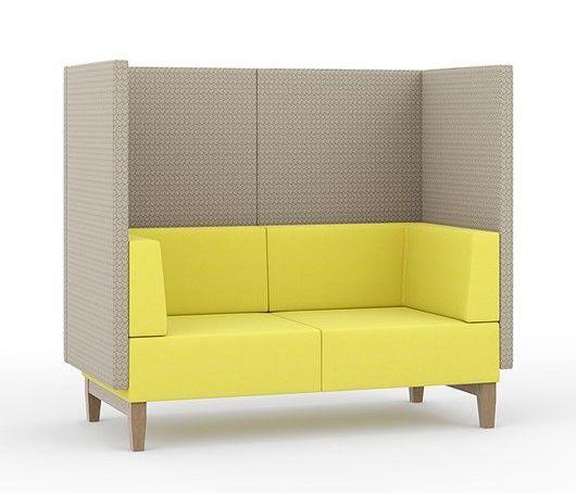 High Back Acoustic Sofa - Border