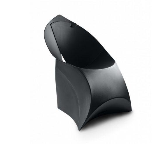 Flux Folding Chair Black