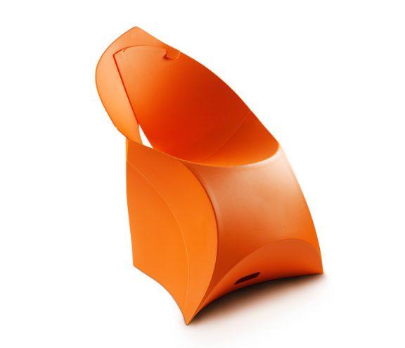 Flux Folding Chair Orange