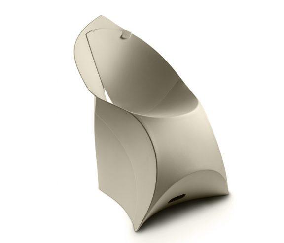 Flux Folding Chair Pebble