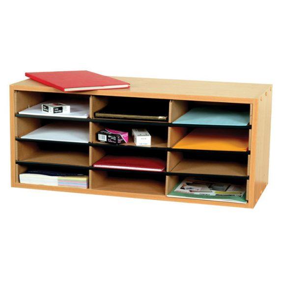 12 Section Beech Literature Organiser