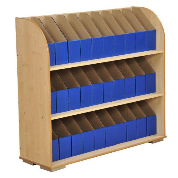 3 Shelf Maple A4 Bookcase
