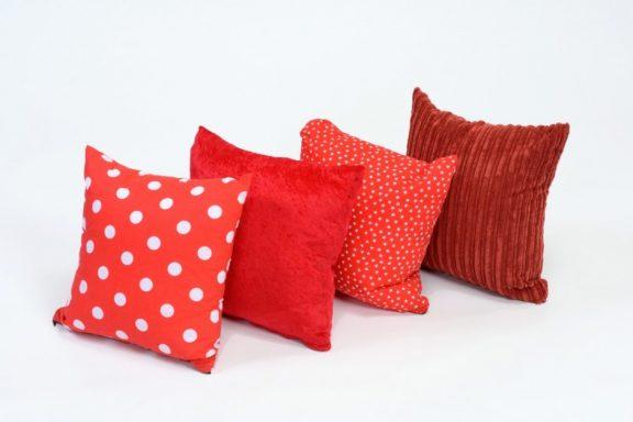 4 x Fire Tone Cushions