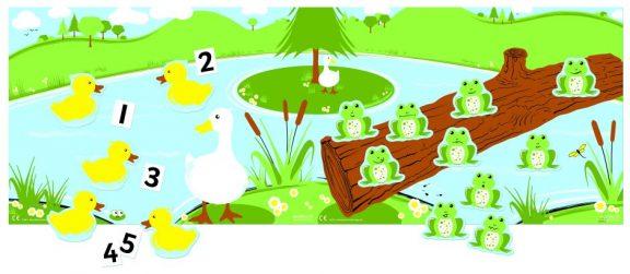 5 Little Ducks Went Swimming & 10 Little Speckled Frogs Set