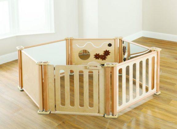 6 Piece Toddler Enclosure Panel Set