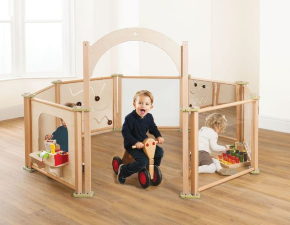 8 Piece Toddler Play Panel Set