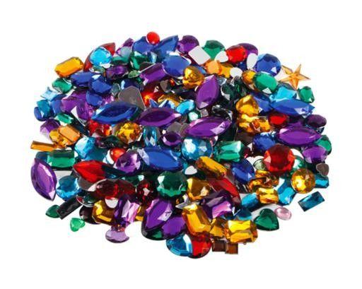 Acrylic Gemstones Assorted