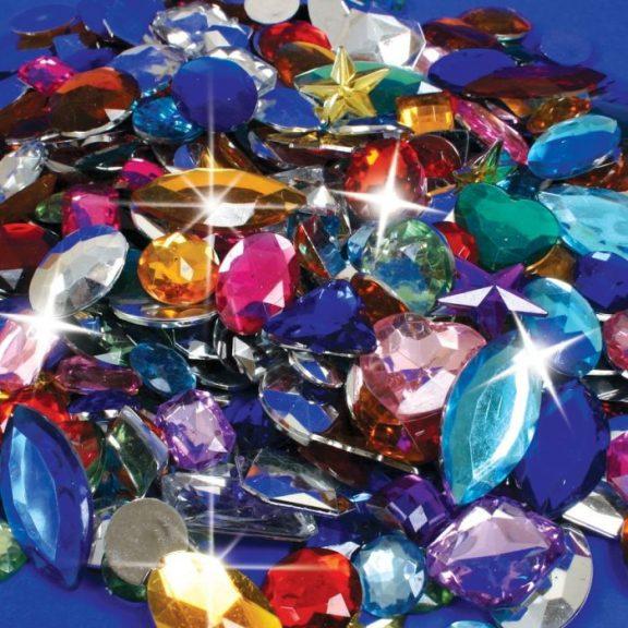 Acrylic Gem Stones