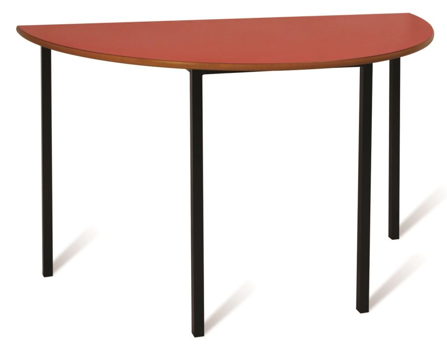 ADV Fully Welded Semi Circular Stackable Tables