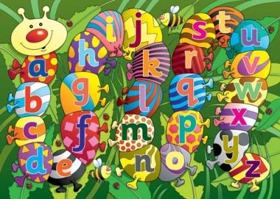 Alphabet Caterpillar Playmat