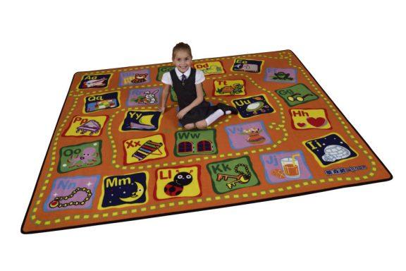 Alphabet Child's Play Mat