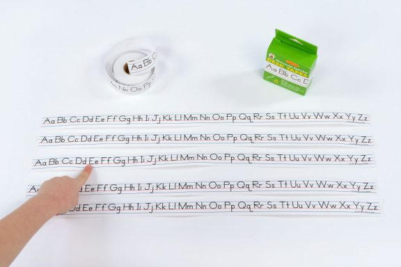 Alphabet Desk Tape