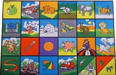 Alphabet Picture Playmat