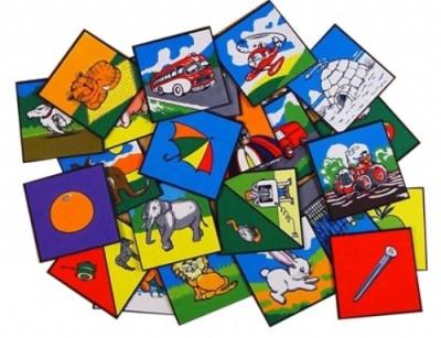 Alphabet Picture Squares