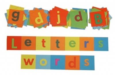 Alphabet Squares 108 Letters