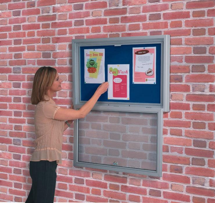 Aluminium Framed Outdoor Noticeboard