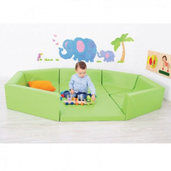 AM Soft Play Foam Playpen Extension