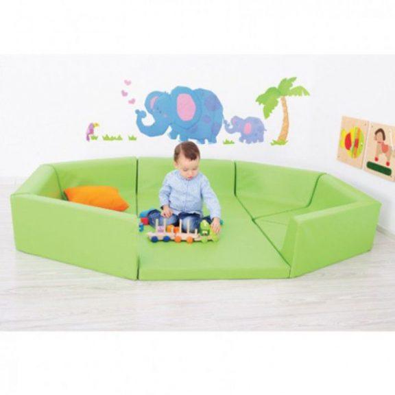 AM Soft Play Foam Playpen Set