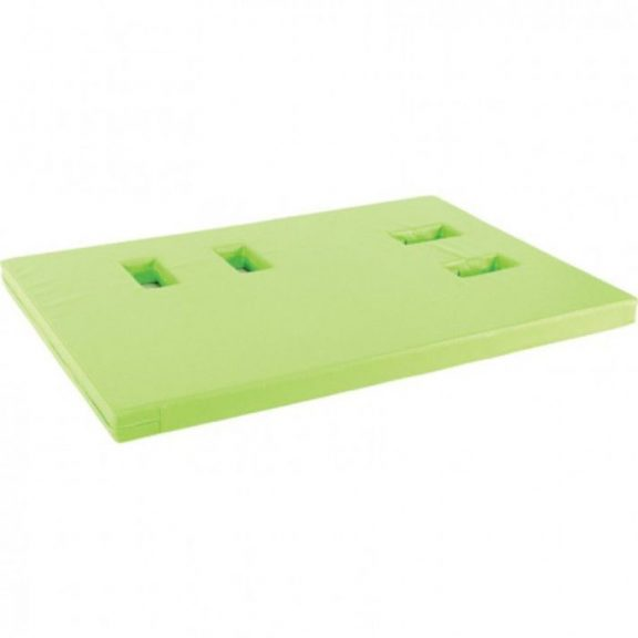 AM Soft Play Mattress With Sockets- Right