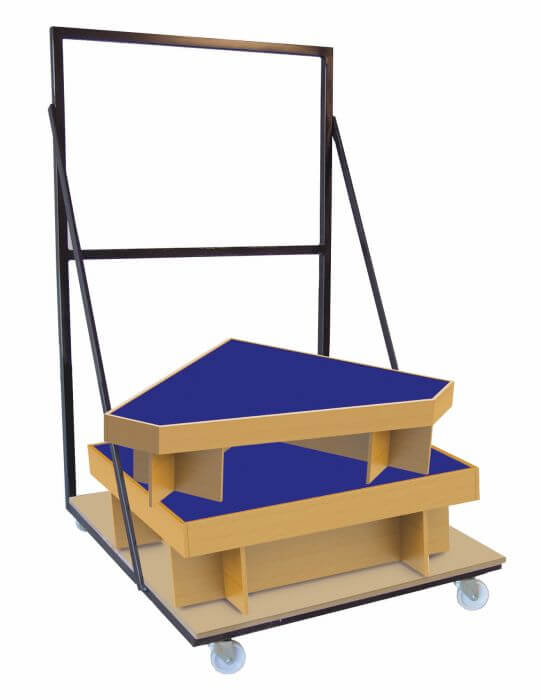 Amon Portable Staging - Trolley
