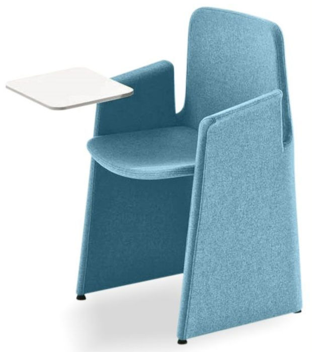 Amoxy Folding Armchairs with Writing Tablet