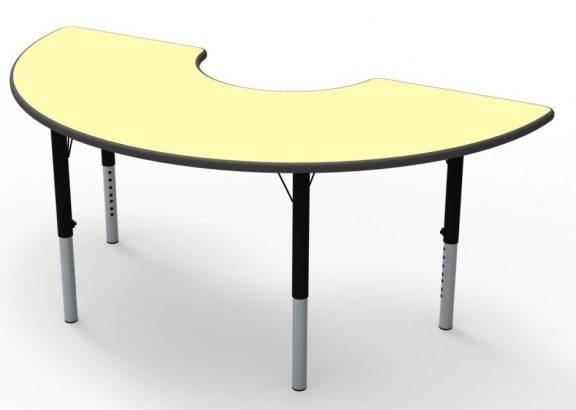 Arc Height Adjustable Theme Tables