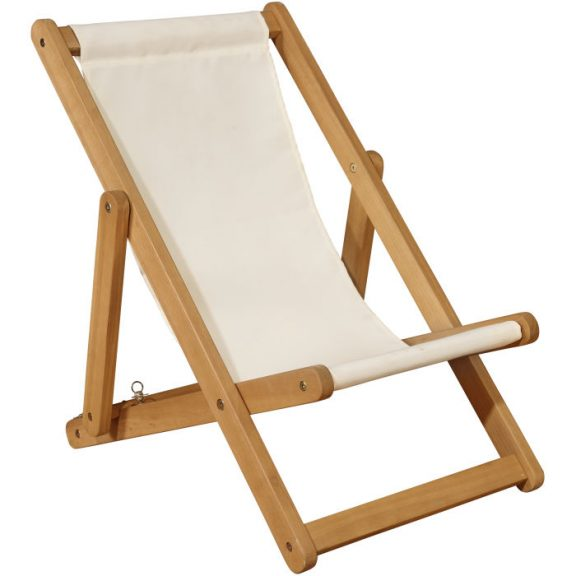 Ares Folding Deck Chair