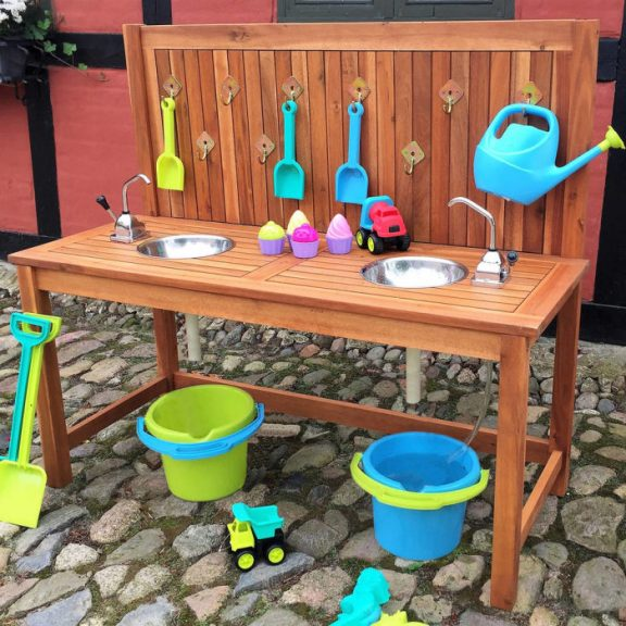 Ares Outdoor Kitchen with 2 Sinks and Pumps