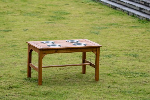 Ares Outdoor Rectangular Mixing Table