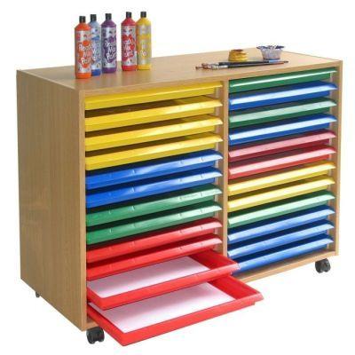 Art Tray Storage System