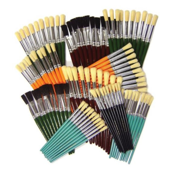 Assorted Paint Brushes Pack
