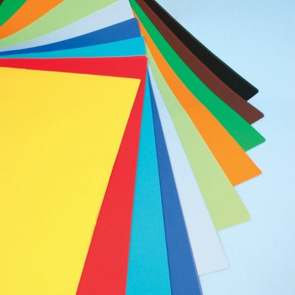 Assorted Poster Paper