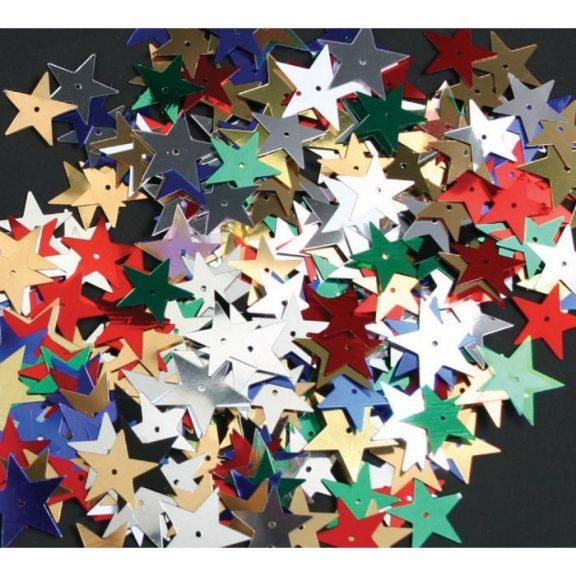 Assorted Star Sequins