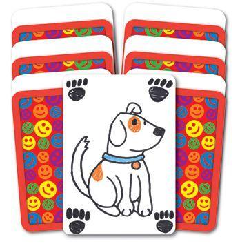 Athena Blank Drywipe Playing Cards