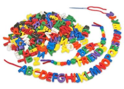 Athena Capital Letter Beads