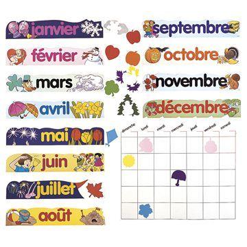 Athena French Canadian Calendar Set