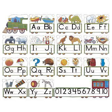 Athena French/English Alphabet Train