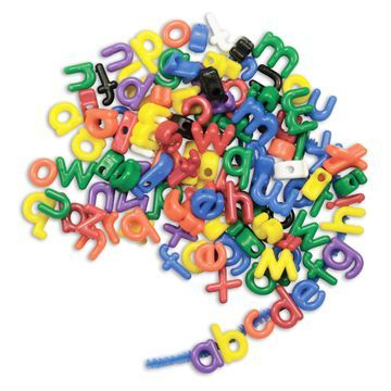 Athena Letter Beads