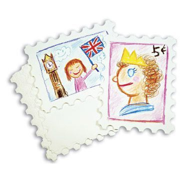 Athena Postage Stamp