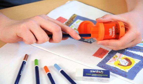 Swash Auto-Stop Double Hole Pencil Sharpeners