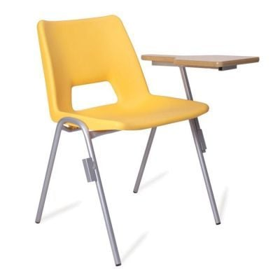 PP1 Poly Chair with Writing Tablet