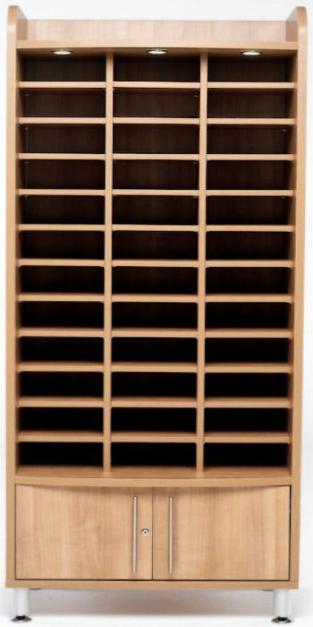 Avaster Tall Wooden Pigeon Hole Unit