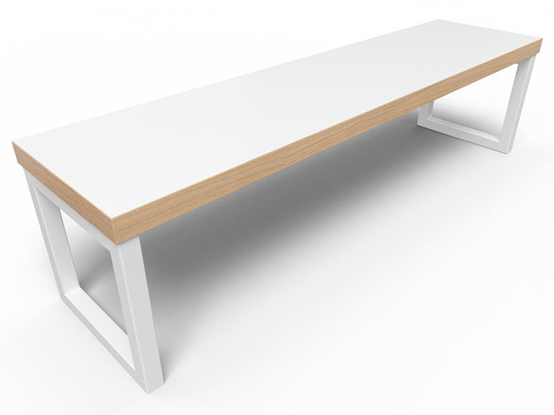 Axis Loop Frame Dining Height Bench