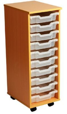 Aztec 10 High Tray High Mobile Storage