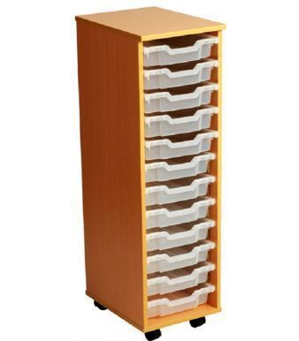Aztec 12 High Tray High Mobile Storage