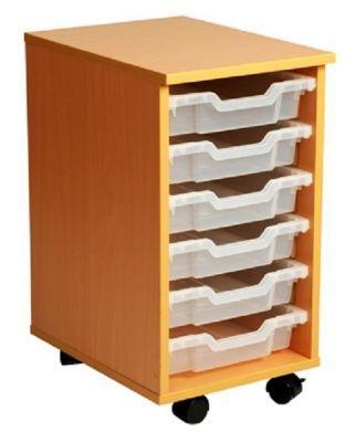 Aztec 6 Tray High Mobile Storage