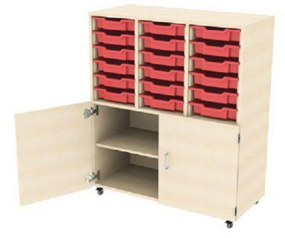 Aztec Combi Store 18 Tray Unit Cupboard Below