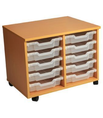 Aztec Double 5 High Mobile Tray Storage