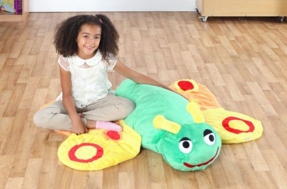 Back to Nature Betsy Butterfly Giant Floor Cushion