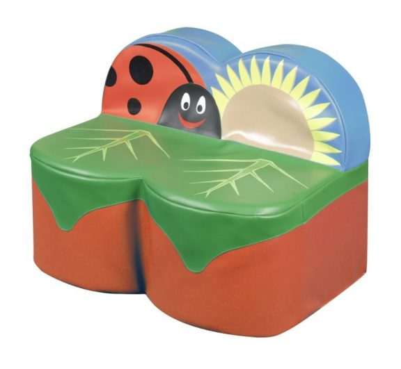 Back to Nature Ladybird Two Seater Sofa